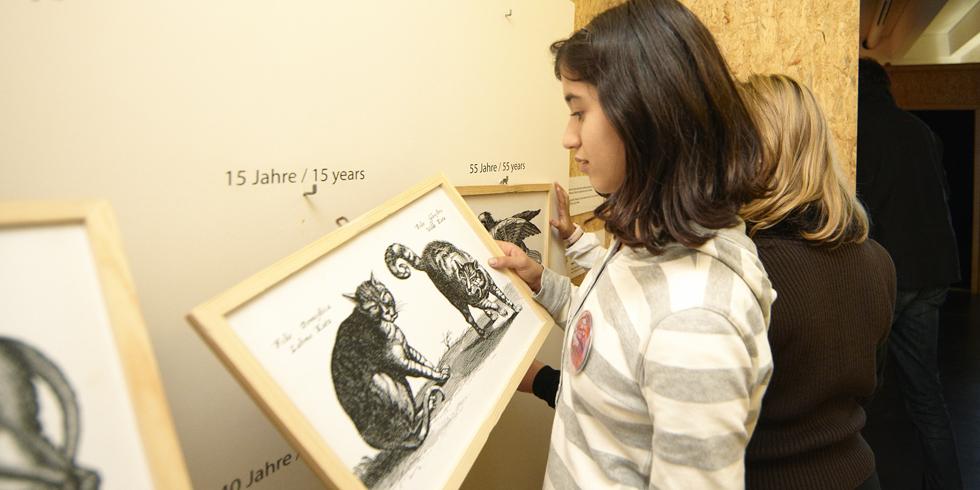 Erzähl mir was vom Tod - Ausstellung: Alice - Museum für Kinder